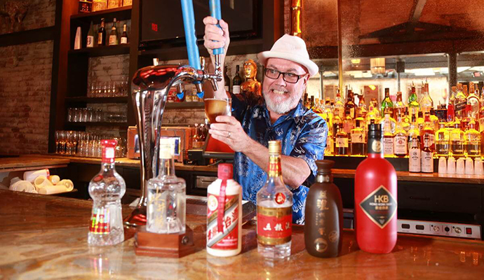 Baijiu, popular in China, pops up in Back Bay's Red Lantern