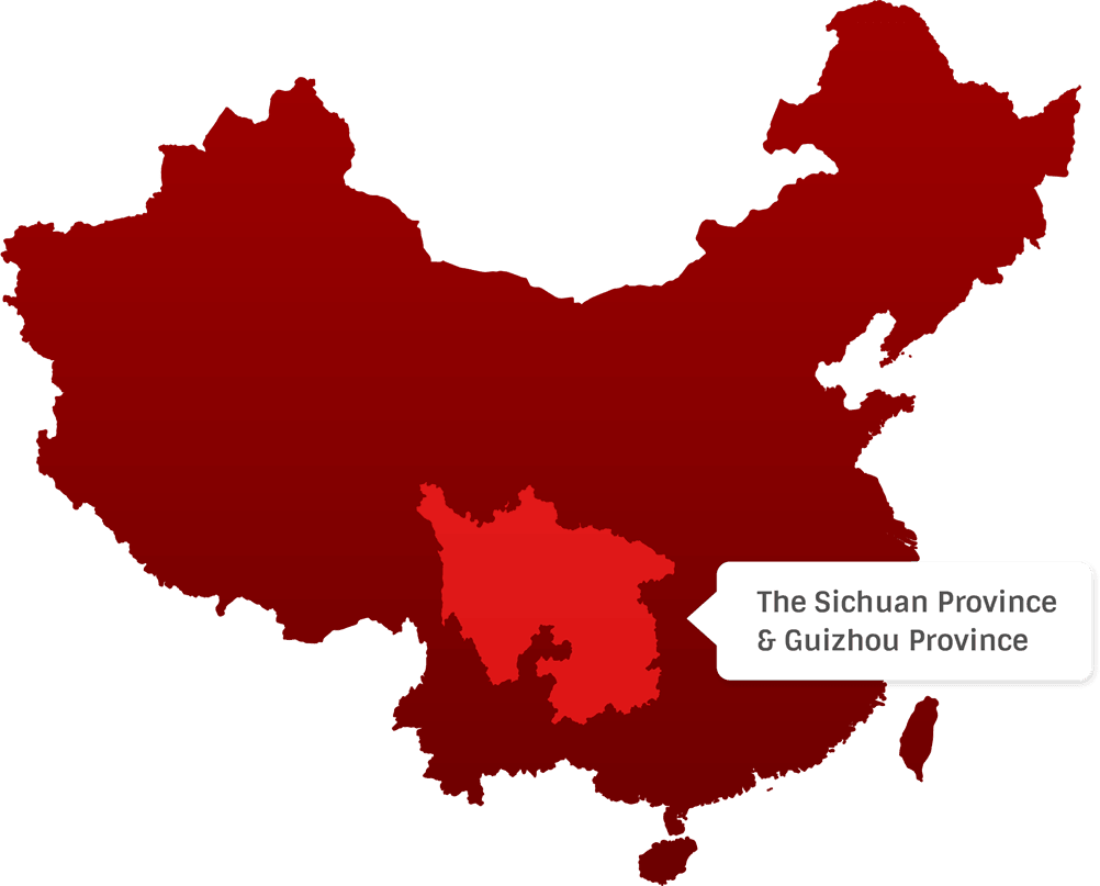 The Sichuan Province & Guizhou Province